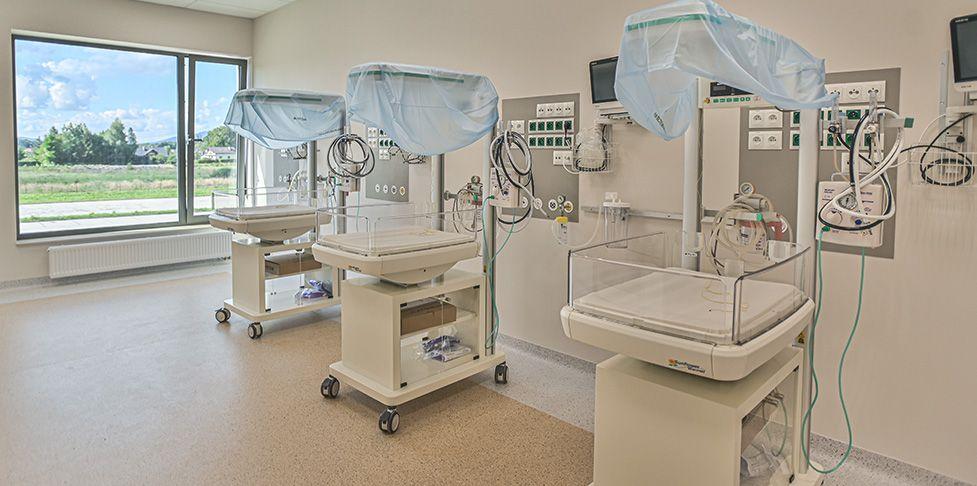 Oddział neonatologiczny szpitala Żywiec