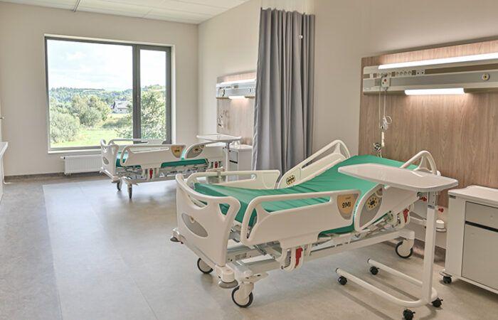 Sala pacjenta w Szpitalu Żywiec