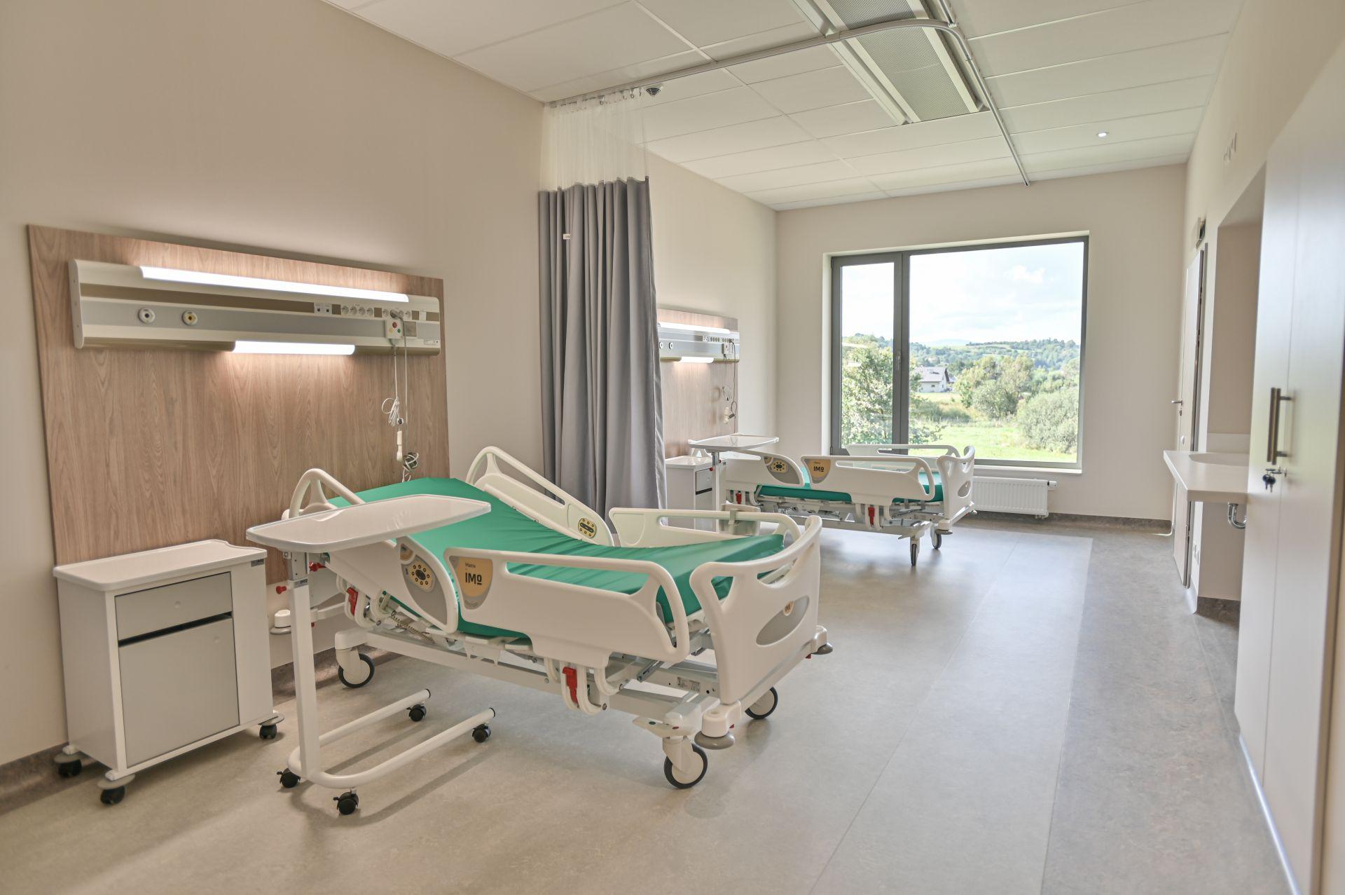 Pokój matki i dziecka Szpitala Żywiec