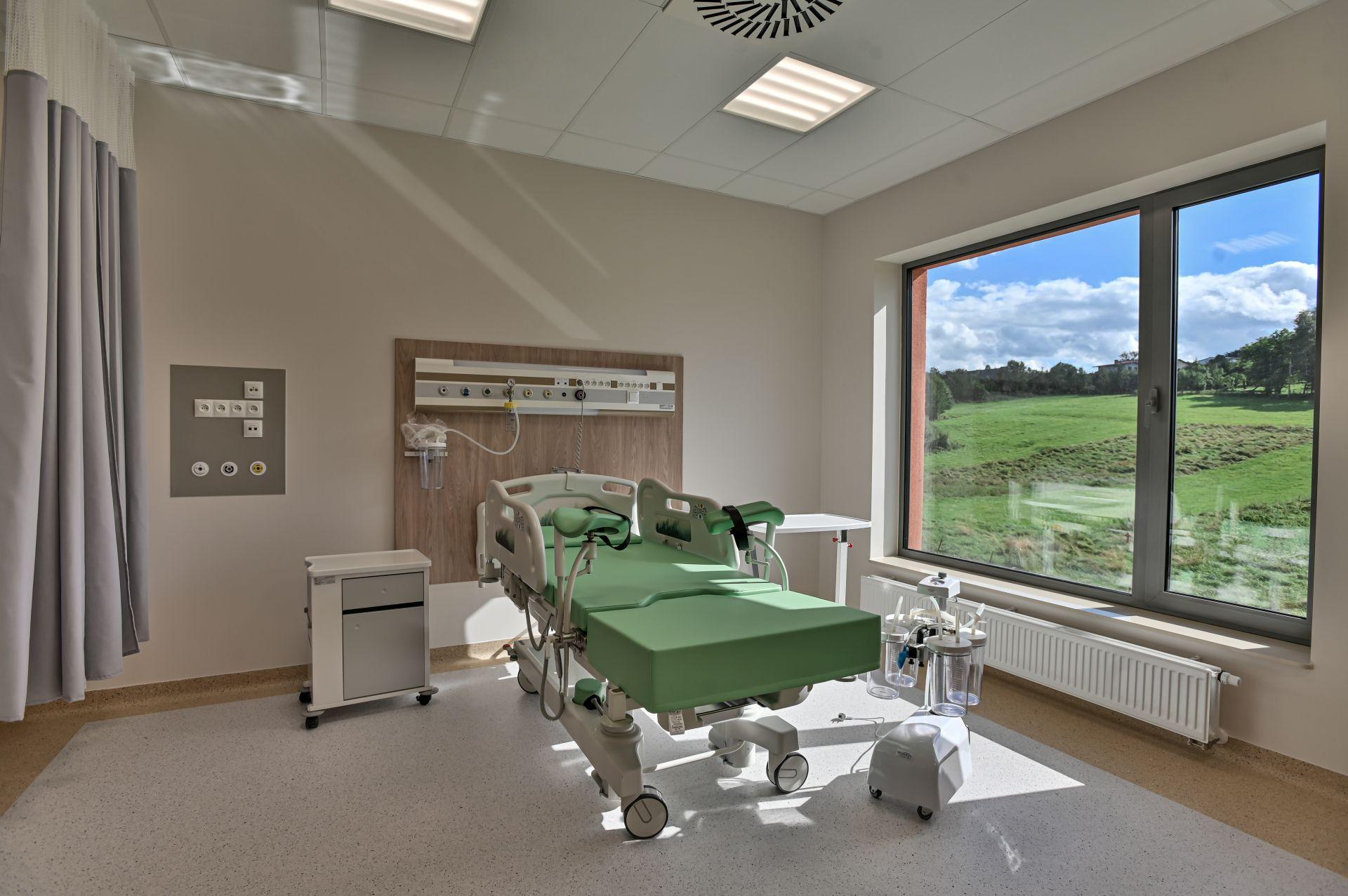 Sala porodowa Szpitala Żywiec
