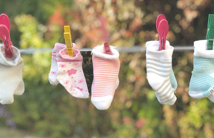 Torba do porodu - ubranka dla dziecka